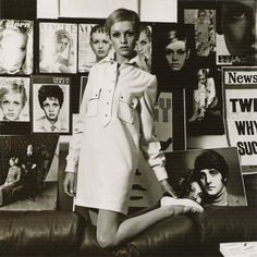 Twiggy - Icono de la moda de los 60's :)