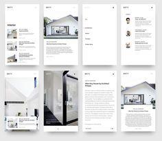 Blog Minimal interior design by beasty | dribbble