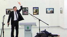 New video of Russian Ambassador Andrei Karlov's assassination on live TV