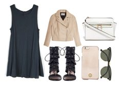 """Untitled #227"" by jaramillorachel ❤ liked on Polyvore featuring Zimmermann, Ray-Ban, T By Alexander Wang and Tory Burch"