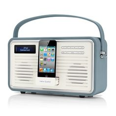 retro iPhone dock
