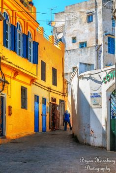 Streets of Tangier, Morocco