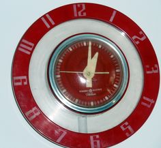 50's retro kitchen wall clock.