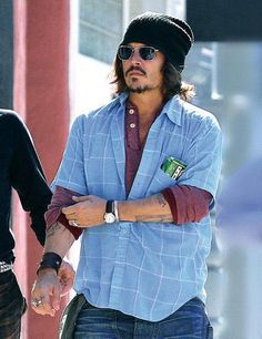 Johnny Depp...yup, he made it onto my blue board too <3