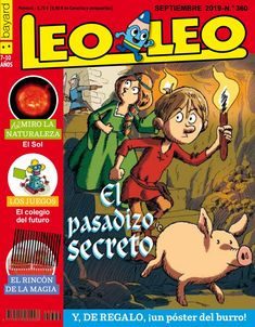 Leoleo 360 Comic Books, Cover, French, Easy, Happy, Secret Passage, Journals, French People, French Language