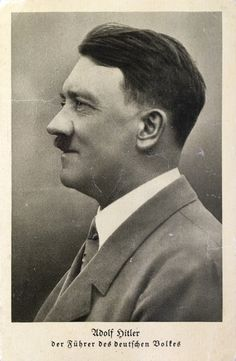 A few of Hitler's postcards 1931-1934