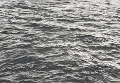 Vija Celmins. American, born 1939. Untitled [Waves],1970. Lithograph printed in two grays on Rives BFK paper. Purchased. Photography by Petegorsky/Gipe.