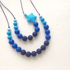 Gummy Gemms Silicone Teething Necklace Mother and by GummyGemms