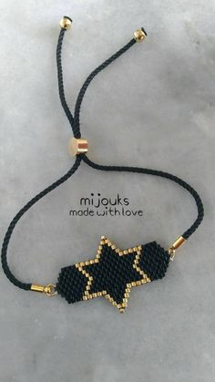 *It is made with special miyuki beads. *What are miyuki beads? *They are beads specially cut as every one of them having exactly the same measures. *The bracelets which are made with miyuki beads are Handmade Jewelry Business, Handmade Jewelry Tutorials, Handmade Jewelry Bracelets, Wire Jewelry, Boho Jewelry, Beaded Jewelry, Jewelry Necklaces, Beaded Bracelets, Embroidery Bracelets