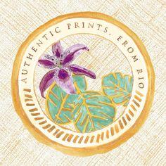 """""""BRASÕES TROPICAIS  #madeinbrazil #newprints #trópicocolonial #newcollection #brasõestropicais #tropicallife #authenticprintsfromrio #naturalliving…"""""""