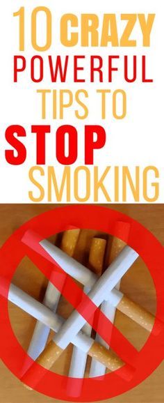 10 powerful tips to stop smoking. Quit smoking. Quit smoking remedies.