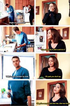 Casey: Well, I'm not a plumber by trade. (3x15)
