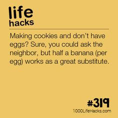 The post Out Of Eggs? appeared first on 1000 Life Hacks.