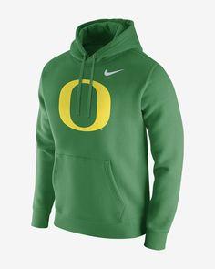 super popular a2032 715e0 Nike College (Oregon) Men s Fleece Hoodie - XL Green Mens Fleece Hoodie,  University