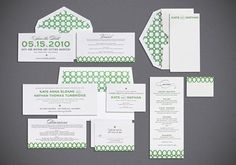 save-the-date, invites, and place cards Oh my!
