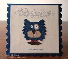 Indiana Inker - Celebrate Card - Stampin' Up!