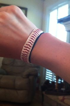 How to Make a Bracelet Out of a Baseball