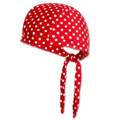 PLAYSHOES Girls Bandana Copricapo, colore rosso a pois 51 cm