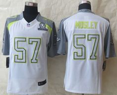 """$25.88 at """"MaryJersey"""" (maryjerseyelway@gmail.com) Nike Ravens No.57 C.J. Mosley White Pro Bowl Men's Stitched NFL Elite Team Carter Jersey"""