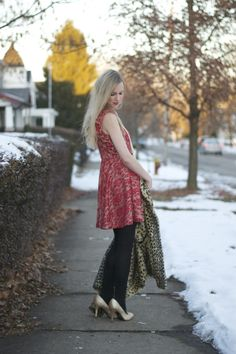 Lacy Rose in a Deb Shops #holiday #ootd