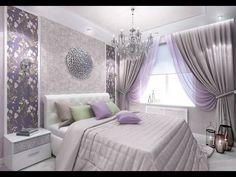 44 Trendy bedroom master ideas romantic home decor Romantic Bedroom Design, Romantic Home Decor, Bedroom Designs, Bedroom Ideas, Romantic Ideas, Purple Bedroom Decor, Bedroom Colors, Living Room White, White Rooms