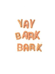Barkday Cakes EDIBLE TYPE Cookies for dogs! Strawberry or Peanut Butter :)