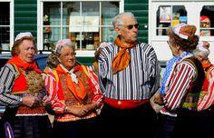 Opgedoft voor Koninginnedag #NoordHolland #Marken