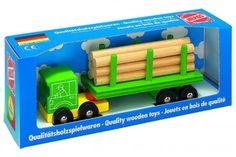 Lastebil med tømmer
