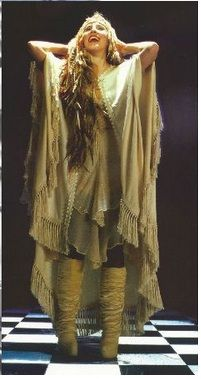 One of my favorite pictures of Stevie Nicks. Between the fringed outfit and the slouch boots, this picture embodies everything about boho style. #styleicon #modcloth