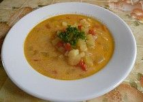 Cuketová polévka zvaná naděje Thai Red Curry, Ethnic Recipes, Food, Meal, Essen, Hoods, Meals, Eten