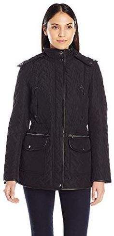 47d0b1f39 Chic Cole Haan Women's Quilted Parka with Removable Hood online. [$359.99]  foryourshopping from
