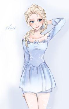 omg so cute elsa as a ballerina!!