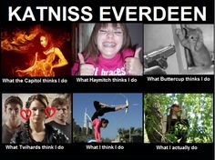 Katniss misconceptions. Not as good as Peeta's, but still funny.