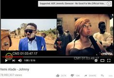 Effyzie Music diva and songstress, Yemi Alade has broken yet another record as her music video for smash hit single 'Johnny' has now surpas. Nigerian Music Videos, Celebrity Gist, African Artists, Female Singers, Her Music, Mtv, Beats, Celebrities, Youtube