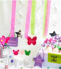 Fairy Party Pack Embroidery Designs