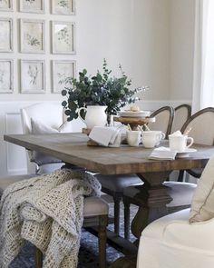 15 Lasting Farmhouse Dining Room Makeover Decor Ideas