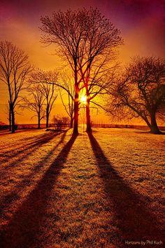 Autumn Sunset ~ Marvelous Nature
