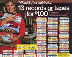 R.I.P. COLUMBIA HOUSE: Mail-Order Music Club to [Finally] Cease Operations. How many of you ordered the 13 records or tapes for $1.00 and became a member of Columbia House? Now, how many of you never paid and still owe them that dollar? Well, they could certainly use it now...
