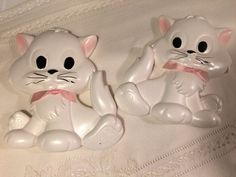Miller Studios chalkware Kitty Cats retro chalkware wall