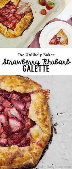 [VIDEO] Celebrate spring with this quick and easy strawberry rhubarb galette. Enjoy a slice faster than you can say pie! Perfect with ice cream.