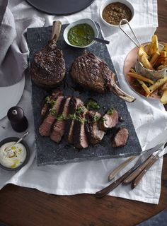Argentineans adore their beef and serve it very simply: either grilled or barbecued with sauces on the side.