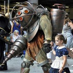 Big Daddy father and daughter halloween costume – freaking awesome