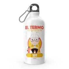 Termo - El termo del mejor sst, encuentra este producto en nuestra tienda online y personalízalo con un nombre. Water Bottle, Drinks, Carton Box, Store, Crates, Drinking, Beverages, Water Bottles, Drink