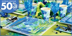 Tropical Breeze Party Supplies - Cool Tropical Decorations & Tableware-Party City