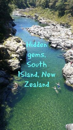 Our top 5 unexpected finds during our campervan travels around South Island, New Zealand. This was at Pelorus Bridge Scenic Reserve, best swimming hole ever!