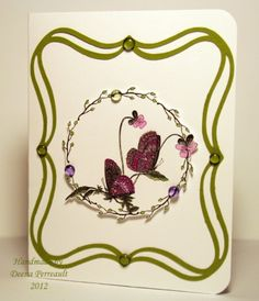 Butterfly Circle Frame