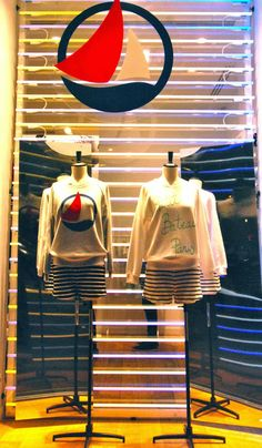 Petit Bateau - March 2014 - Paris via mesvitrinesnyc.blogspot.it