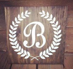 Hey, I found this really awesome Etsy listing at https://www.etsy.com/listing/234913926/monogram-wooden-sign-shabby-chic-decor