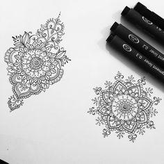 70 ideas womens tattoo ideas mandala art for 2019 Dotwork Tattoo Mandala, Tattoo Henna, Hand Tattoo, Henna Art, Henna Mandala, Future Tattoos, Love Tattoos, Beautiful Tattoos, New Tattoos