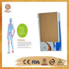 It is approved 100% effective by pain relief patch manufacturer and can relieve effect in 20 minutes !